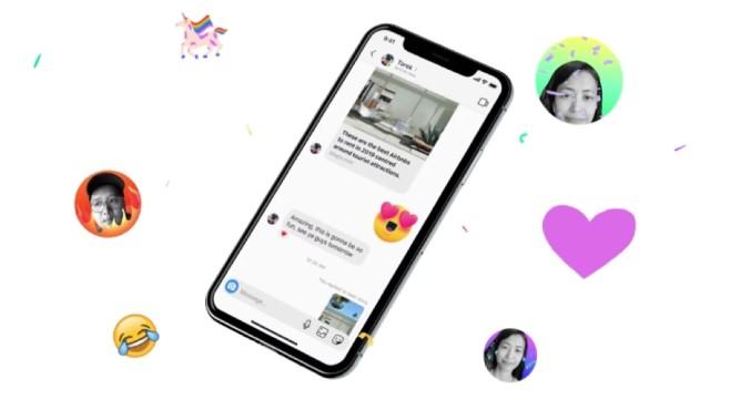Instagram Messenger auf einem Smartphone©Facebook