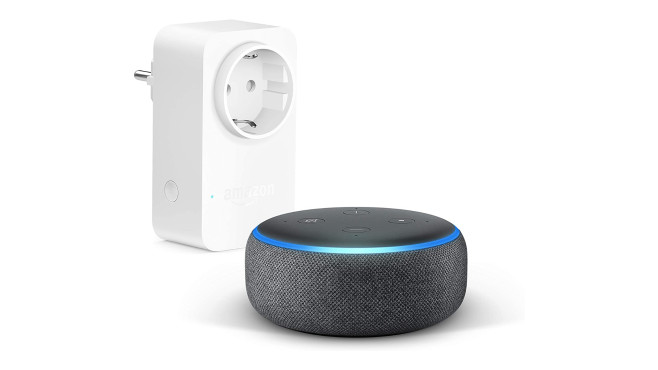 Amazon Echo Dot mit Smart Plug © Amazon
