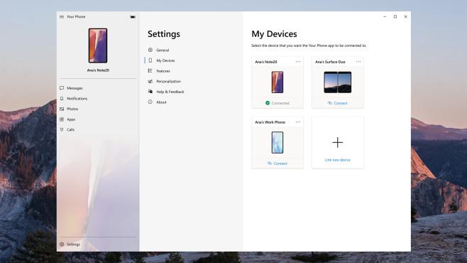 Gerätewechsel in Ihr-Smartphone-App©Microsoft