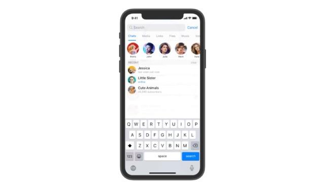 Die neue Telegram-App©Telegram