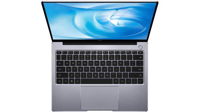 Huawei MateBook mit Intel-Prozessor vor weißem Hintergrund©Huawei