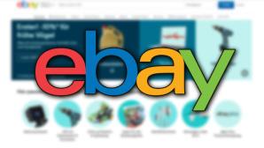 Ebay-Logo vor einer Website©Ebay