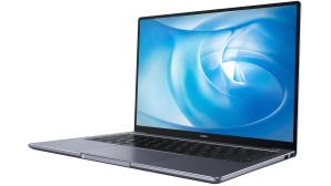 Huawei MateBook 14 AMD vor weißem Hintergrund©Huawei