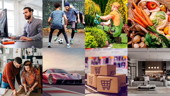 Collage Trend Shops 2021©iStock