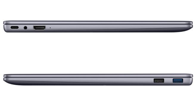 Huawei MateBook 14 (2020, Inel) von rechts und links vor weißem Hintergrund©Huawei