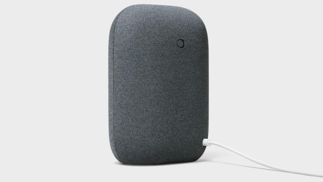 Google Nest Audio, Rückseite©Google