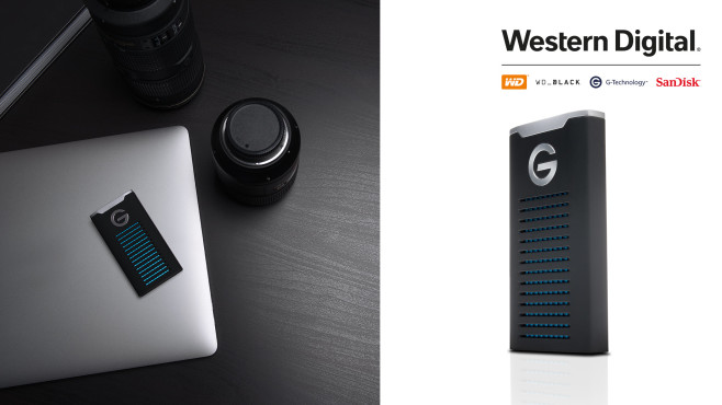 G-Technology G-Drive Mobile-SSD©WD