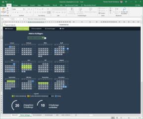 Vacationizr: Urlaubsplaner für Excel