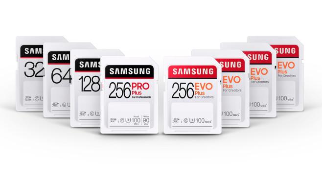 Modelle der Samsung Evo Plus und Pro Plus©Samsung