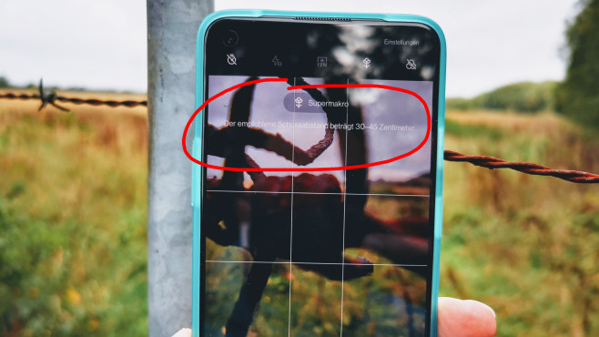 OnePlus 8T Bumper Case Schutzhülle©COMPUTER BILD / Michael Huch