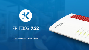 FritzOS 7.22 f�r FritzBox 6660 Cable © AVM