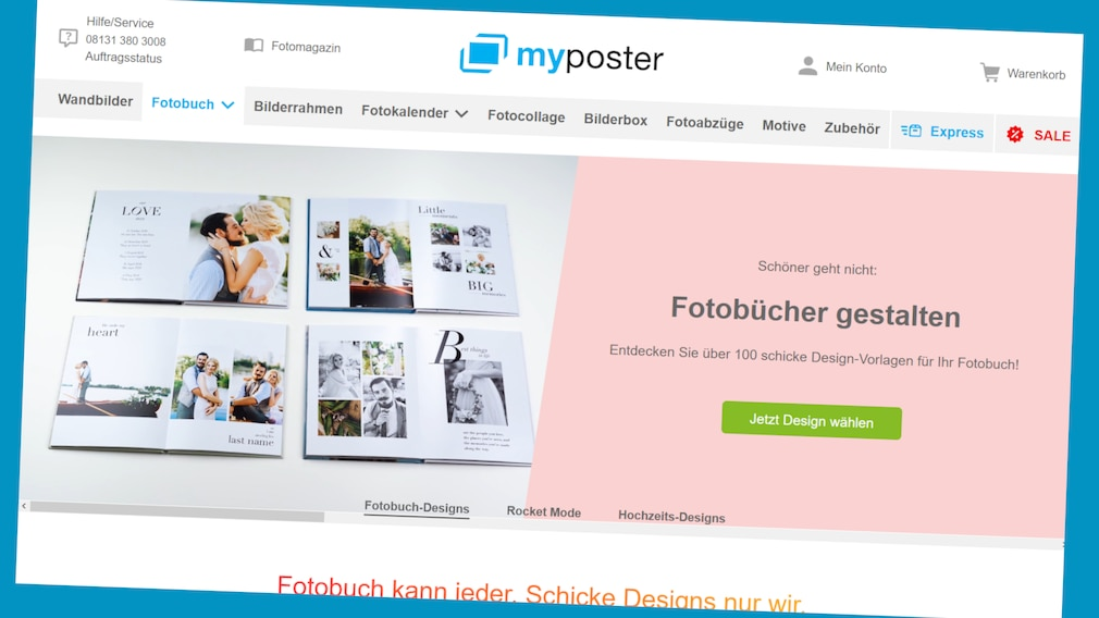 MyPoster: Oster-Deal © Screenshot: www.myposter.de