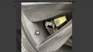 Gebrochener Querlenker bei einem Tesla Model S©SwissTeslaDriver