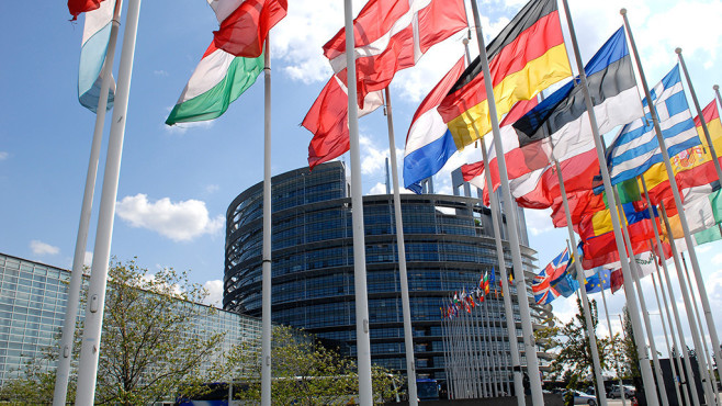 Flaggen der Europäische Union©Europäische Union