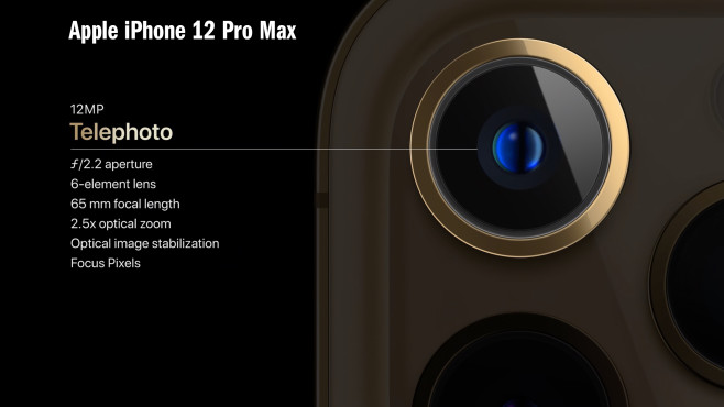 Kamera: iPhone 12 Pro Max©Apple/COMPUTER BILD