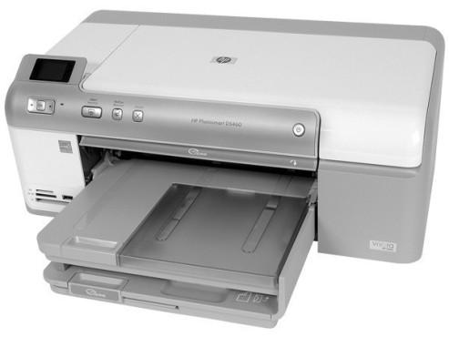 HP Photosmart D5460: Tintenstrahldrucker ©COMPUTER BILD