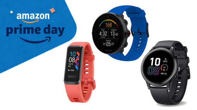 Prime Day Smartwatch: Angebote für Fitness-Tracker & Co. © Amazon, Honor, Huawei, Polar