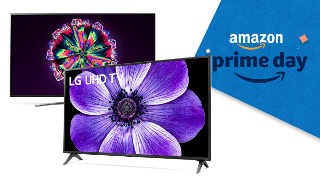 LG LCD-Fernseher am Amazon Prime Day © LG Electronics, Amazon