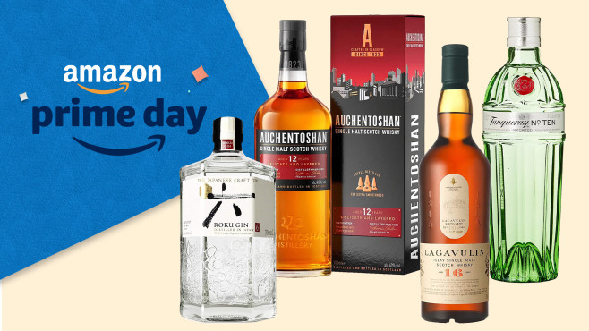 Amazon Prime Day Rum, Whisky, Gin © Amazon