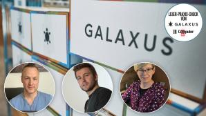 Galaxus Online-Shop Leser-Praxis-Check©Galaxus, COMPUTER BILD, Roman Satin, Oliver Junk, Claudia Dammeyer-Sahm