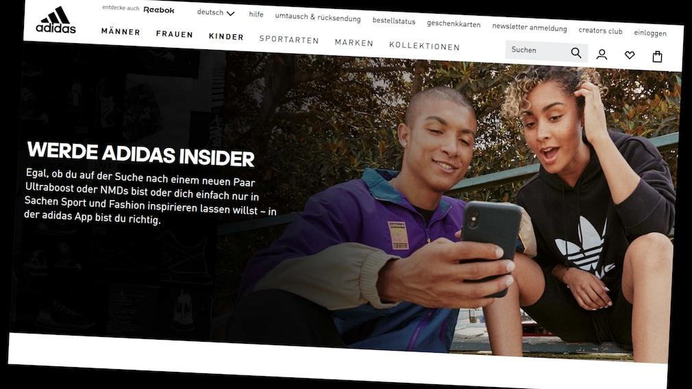 Adidas Store: Bestellungen über die App jetzt günstiger