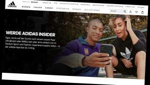 Adidas Store: Bestellungen �ber die App jetzt g�nstiger©Screenshot Hersteller-Shop