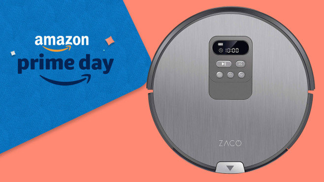 ZACO V80 Saugroboter mit Wischfunktion Amazon Prime Day © Amazon, Zaco