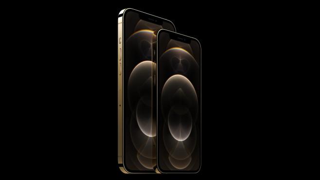 Apple iPhone 12 Pro Max: Größe, Preis, Ausstattung Dummys, die die möglichen Größenverhältnisse der iPhone-12-Reihe zeigen. Ganz rechts: Das iPhone 12 Pro Max (Display: 6,7 Zoll). Quelle: Macrumors.com©MacRumors