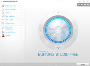 Ashampoo Burning Studio Free – Kostenlose Vollversion