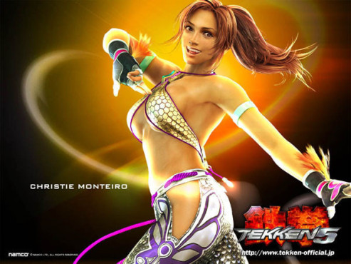 Cyber-Babes  Christie © Namco Bandai
