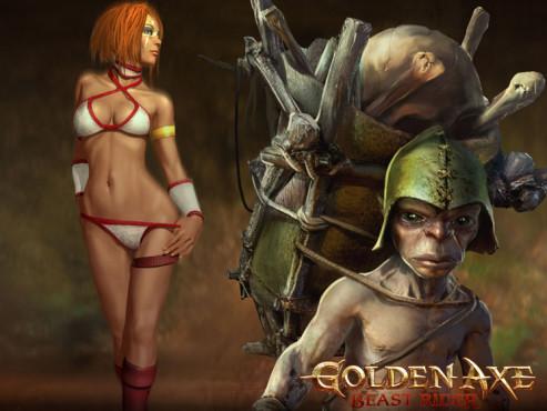 Cyber-Babes Goldenaxe 2 ©Sega