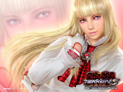 Cyber-Babes  Lili ©Namco Bandai