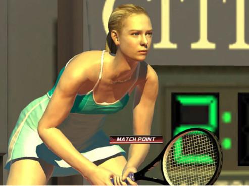 Cyber-Babes Virtua Tennis 3 ©Sega