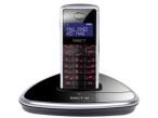 iDECT  V2: Neues Schnurlos-Design-Telefon Das iDECT V2 versucht mit Klavierlack- und Alu-Optik zu trumpfen.