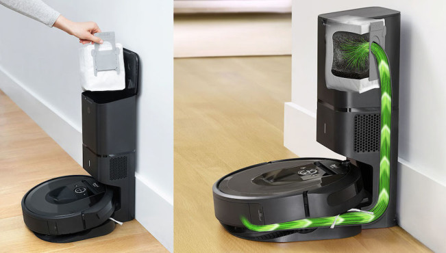iRobot Roomba i7+ mit Absaugstation©iRobot