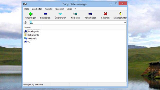 7-Zip: Packprogramm ©COMPUTER BILD