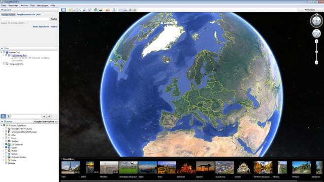 Google Earth Pro – Kostenlose Vollversion: Planeten erkunden ©COMPUTER BILD