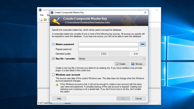 KeePass: Passwörter verwalten ©COMPUTER BILD