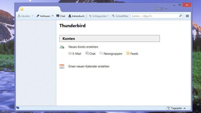 Thunderbird: E-Mail-Programm ©COMPUTER BILD