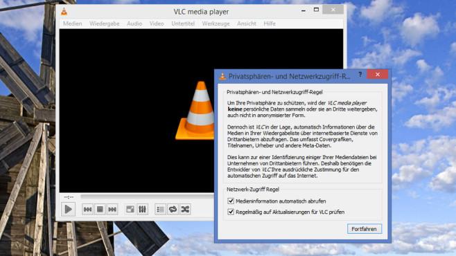 VLC Media Player: Musik- und Filmabspielprogramm ©COMPUTER BILD