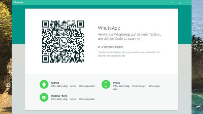 WhatsApp für PC: Mit anderen chatten ©COMPUTER BILD