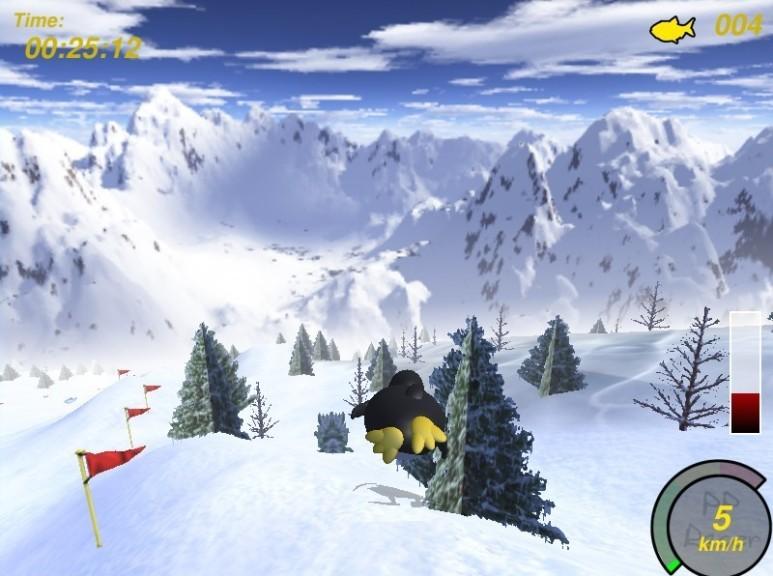 Screenshot 1 - PlanetPenguin Racer