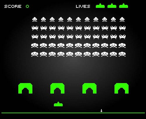 Space Invaders Spielen