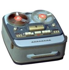 Grundig: Tonbandkoffer TK 830