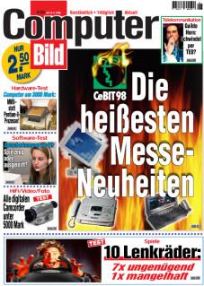 COMPUTERBILD-CeBIT-Trends: Die Technik-Messe 1998