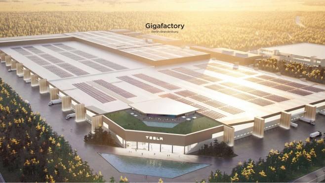 Gigafactory Berlin-Brandenburg©Tesla