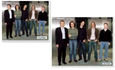 Die Köpfe der Personen ganz links und ganz rechts wurden aus gelungeneren Fotos ergänzt.