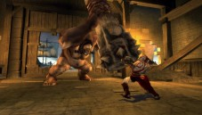 Actionspiel God of War – Chains of Olympus: Zyklop mit riesiger Keule