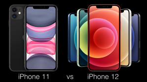 iPhone 11 vs. iPhone 12 © Apple