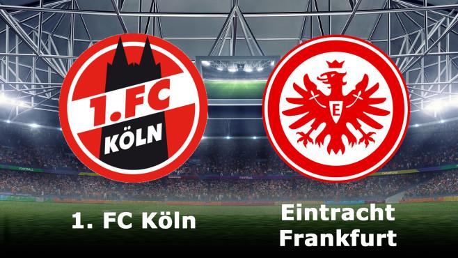 1. FC Köln gegen Eintracht Frankfurt©1. FC Köln, Eintracht Frankfurt, iStock.de/Masisyan
